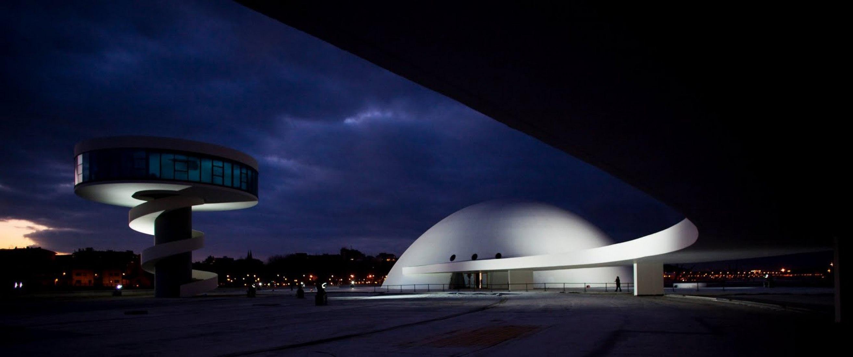 Exterior view © Centro Niemeyer