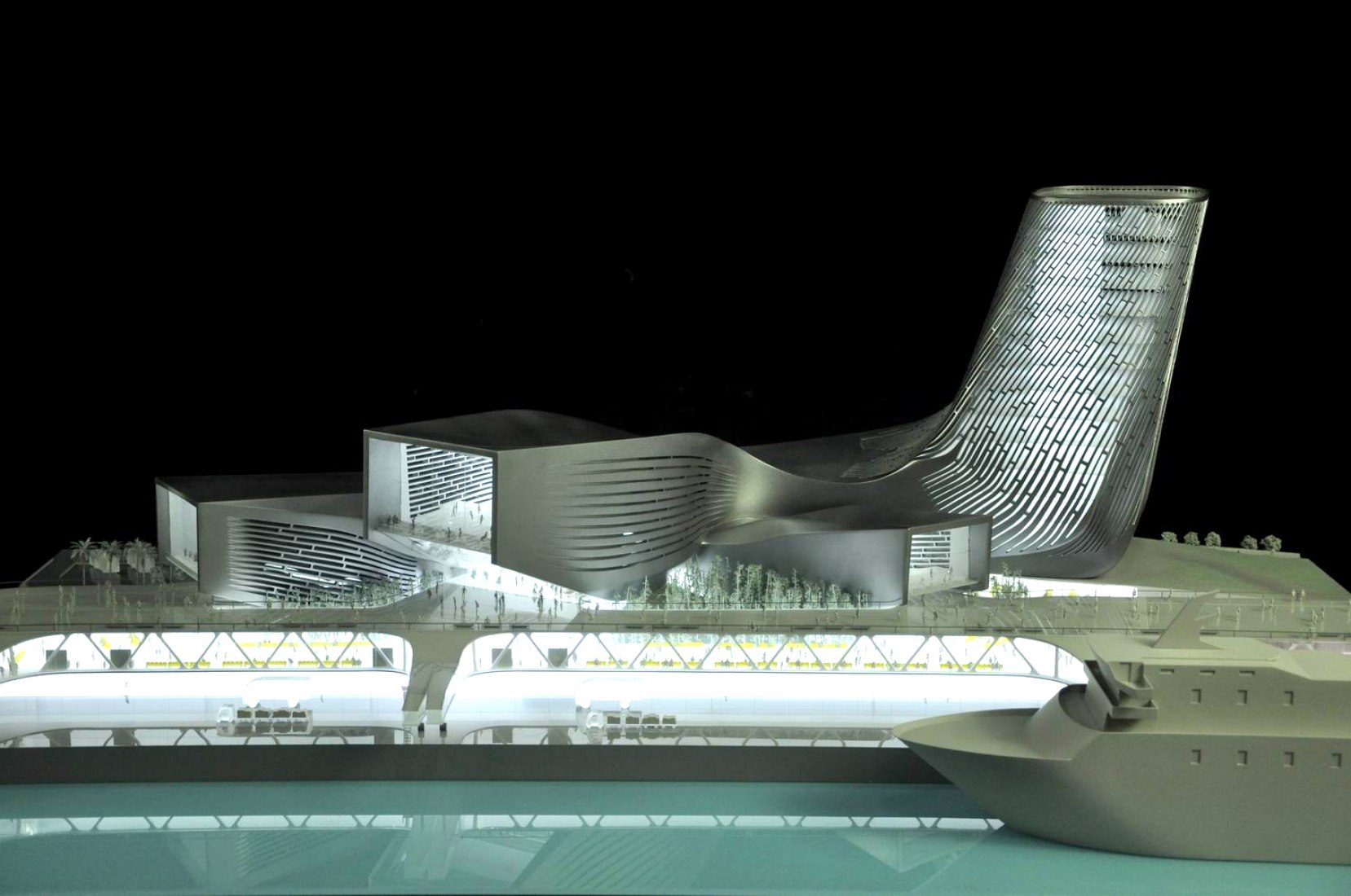 THE KAOHSIUNG PORT TERMINAL COMPETITION by REISER + UMEMOTO.