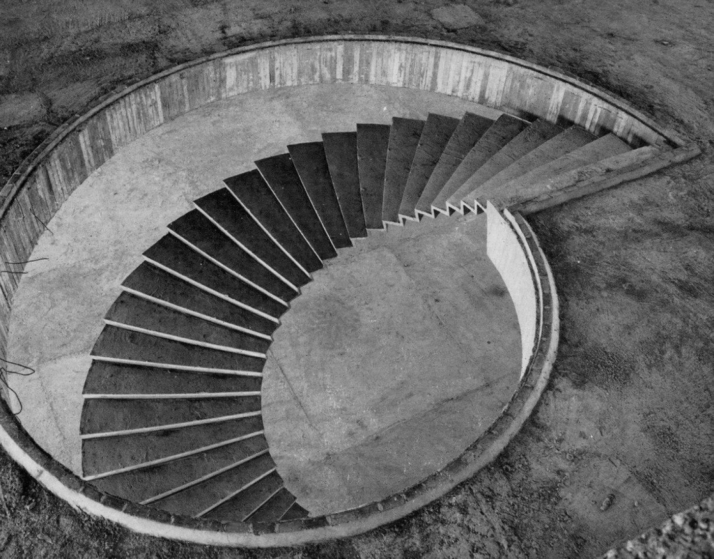 Museo de Arte Moderno en construcción por Affonso Eduardo Reidy. Fotografía © Reto Halme