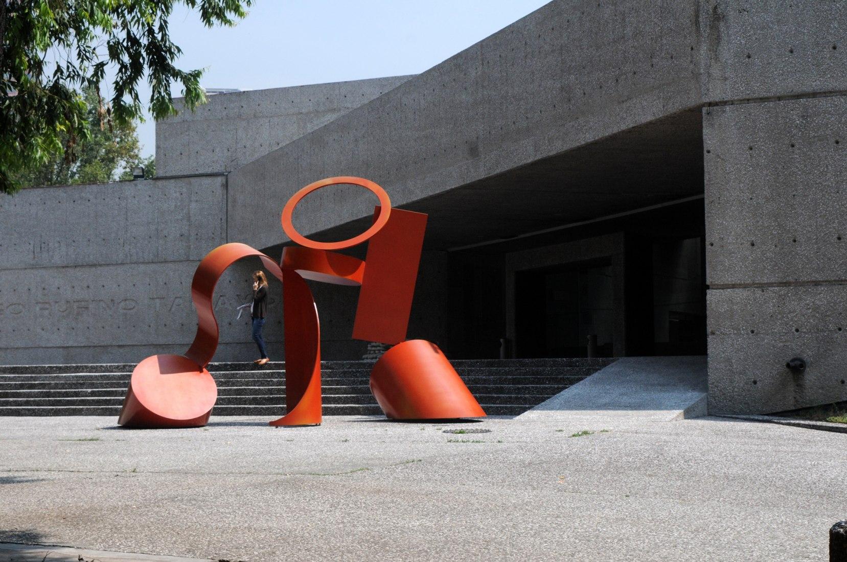 Museo Tamayo Arte Contemporáneo construído en 1981 por Teodoro González de León y Abraham Zabludovsky. Bosque de Chapultepec, México DF. Imagen cortesía de la Secretaría de Cultura de México