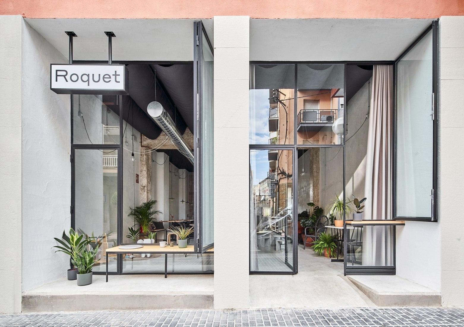 Café Roquet por NUA arquitectures. Fotografía por José Hevia