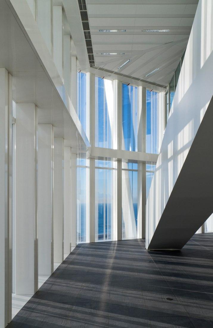 ©Pedro Antonio Pérez. Torre Telefónica Diagonal Zero Zero. Imagen interior. EMBA.
