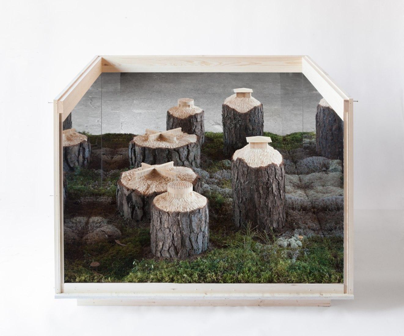 'The Naturalis Brutalis' de Krupinski / Krupinska Arkitekter en la Bienal de Arquitectura de Venecia 2018. Fotografía por Victor Johansson