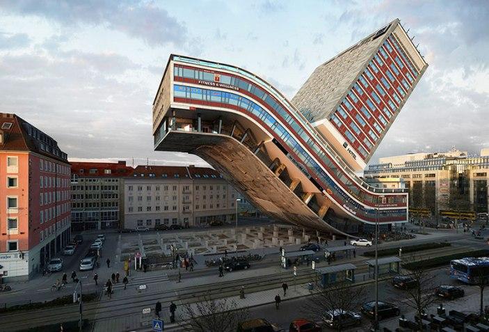 Nhdk Nh Deutscher Kaiser Hotel Munich The Strength Of Architecture From 1998