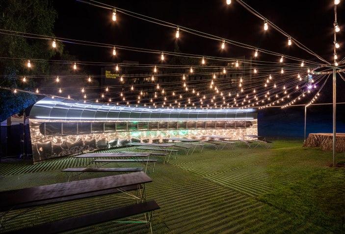 Montreux jazz festival circular pavilion by bureau a the