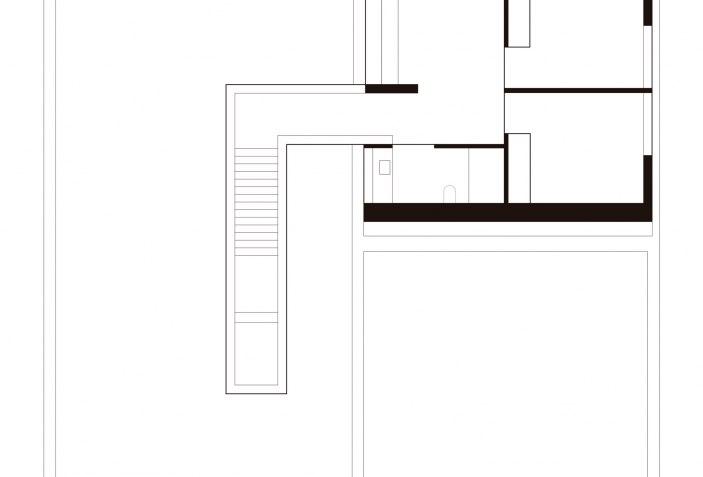 Plano de planta primera. Rudy Dom por Toporjekt.