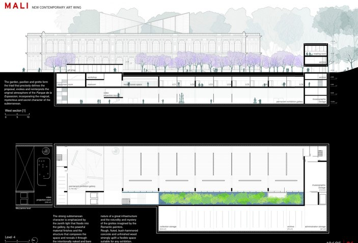 WINNERS of the competition for the extension of the MALI ...