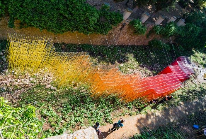 CAUCE – 10 ejemplos de arquitectura efímera para reflexionar sobre el espacio. Fotografía por Sebastian Santacoloma