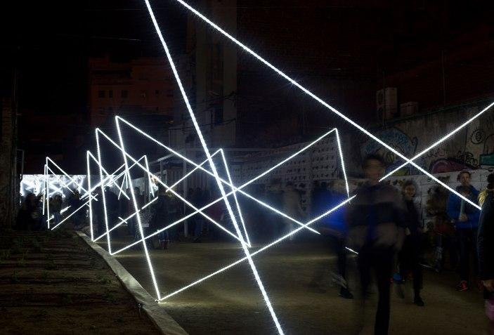 CONTÍNUO - 10 ejemplos de arquitectura efímera para reflexionar sobre el espacio. Fotografía por Consuelo Bautista