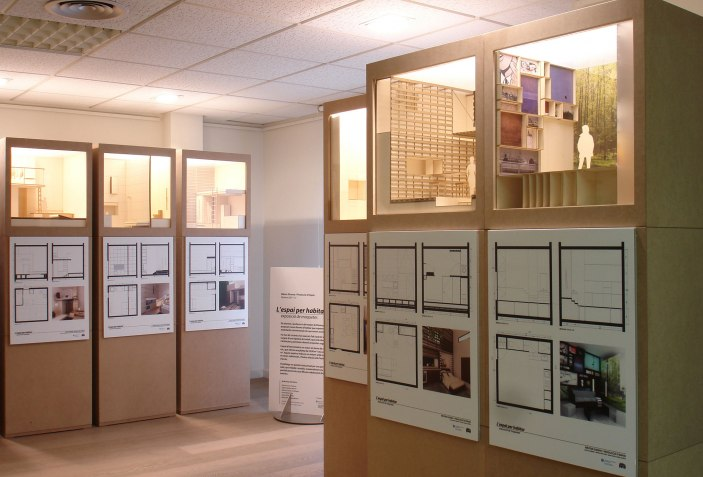 ESPACIO PARA HABITAR - 10 ejemplos de arquitectura efímera para reflexionar sobre el espacio. Fotografía cortesía de MÁSTER UPC Y CCCB