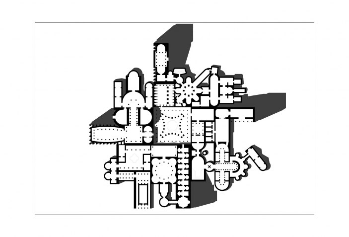re constructivist architecture a call from rome the strength of Rome Cartoon House view