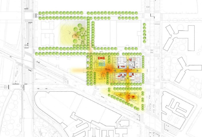 Manhattanville Campus Map.Columbia University Campus Masterplan The Perfect Collaboration