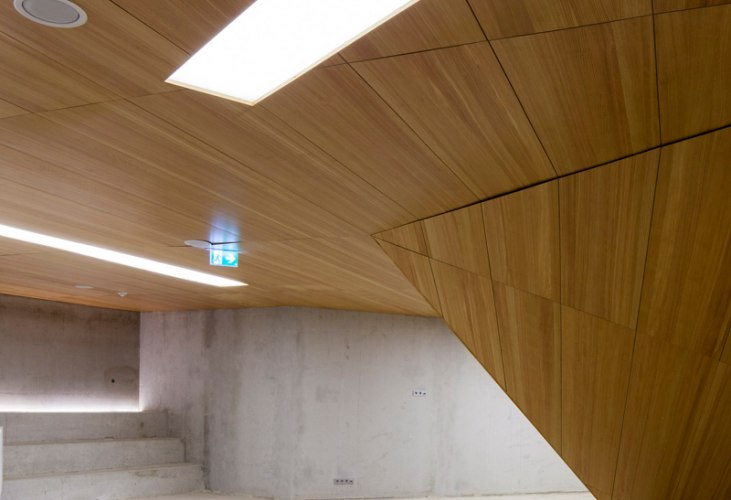 Concert Hall Blaibach By Peter Haimerl The Strength Of