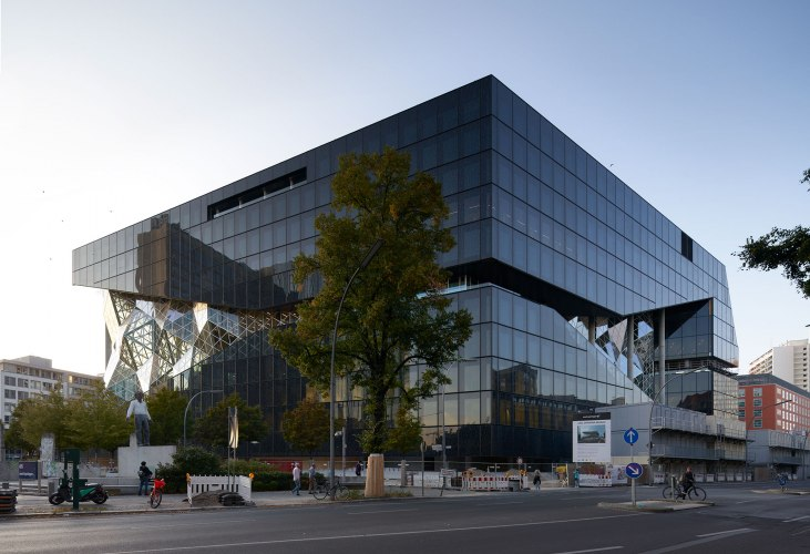 OMA's Axel Springer Campus will be completed in April 2020 | The Strength  of Architecture | From 1998