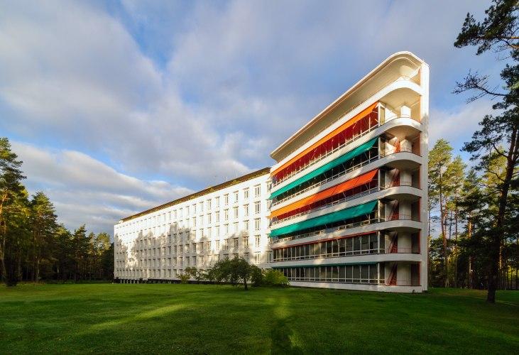 El Sanatorio Paimio de Alvar Aalto está a la venta | Sobre Arquitectura y  más | Desde 1998