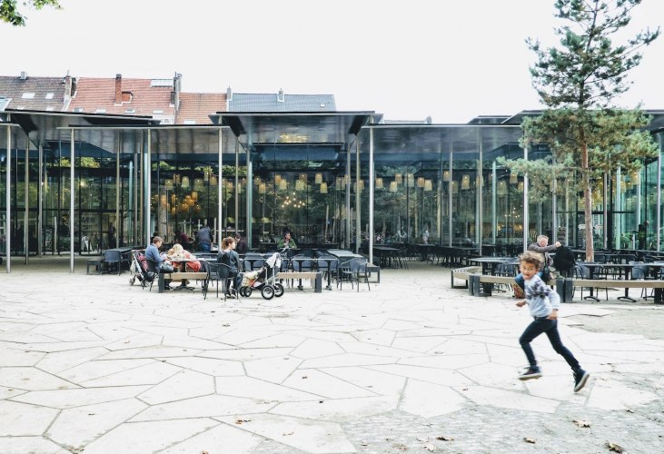 New Aviary And Restaurant At The Antwerp Zoo By Studio Farris Architects The Strength Of Architecture From 1998