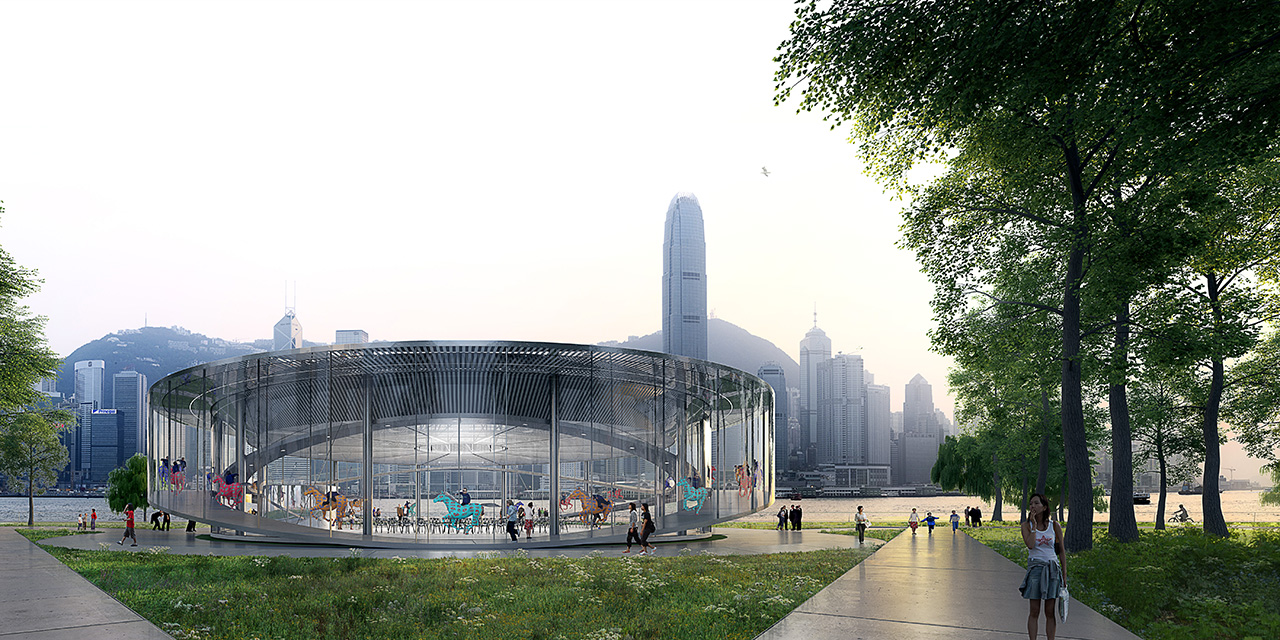 West Kowloon Art Pavilion Entry Competition By Azc